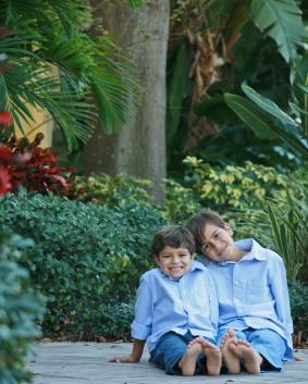 8x10 boys foliage